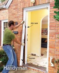 install front doorHow To Install An Exterior Door Bargain Outlet Creative  Home