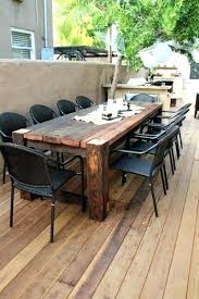 wooden outdoor table plans. Outdoor Wood Patio Furniture S Wooden Sets Intended For Tables Plan Table Plans Free