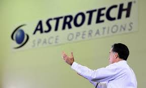 space policy what obama and romney say about nasa iss and more  mitt romney addresses a speech at astrotech space operation in cape canaveral florida in