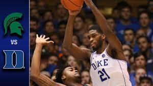 Duke vs. Michigan State Men's Basketball Highlights (2016-17 ...