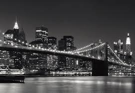 new york skyline wallpaper black and white 207750