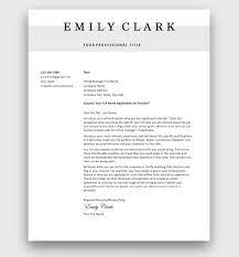 free cover letter templates to