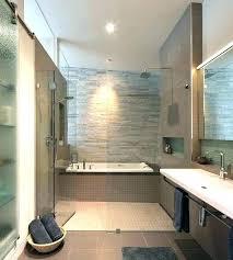 modern bathtub shower combo corner combos bathtubs idea deep sho