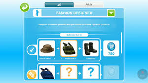 Fashion Design Hobby Sims Freeplay Sims Freeplay How To Be Fashion Designer