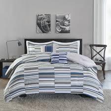 intelligent design wyatt blue comforter set by idintelligent