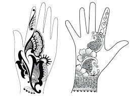 Henna Templates Printable Tangledbeard