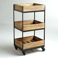 office trolley cart. Office Trolley Cart Folding 3 Shelf Wooden Uk