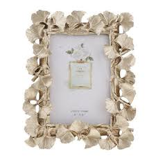 <b>European Style Resin Photo</b> Frame with Golden Leaves Creative ...