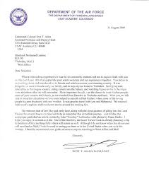 Sample Airforce Recommendation Letter Sample Airforce Recommendation Letter | oakandale.co