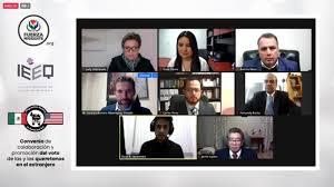 Alianza del IEEQ con asociaciones de migrantes para promover el voto en el  extranjero   Reqronexion - Información de verdad.