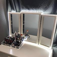 Where To Get A Vanity Mirror With Lights Home Kitchen Led Vanity Mirror Lights Kit Mztdytl 13ft 4m