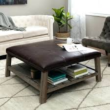 leather coffee table ottoman with storage fieldofscreams leather coffee table ottoman with storage brown leather coffee coffee table elegant leather
