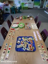 all wood preschool art table52 art