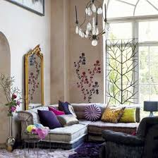bohemian style living room. Simple Room Inspiring Bohemian Living Room Designs Wall Decals Is An Unusual But More  Than Welcome Addition To A Boho Decor The With Bohemian Style Living Room M