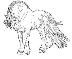 Race Horse Coloring Pages Printable Free With Marvellous Design