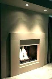 contemporary fireplace mantels surrounds modern surround impressive design concrete brick mantel ideas