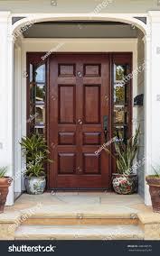 Elegant front doors Entryway Front Door Wide Front Door With An Elegant Entrance Alamy Front Door Wide Front Door Elegant Stock Photo edit Now 448448575