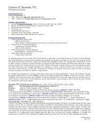 Civil Engineering Resume Examples