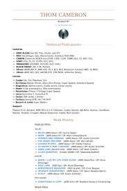 Film Resume Template Gorgeous Film Resume Samples VisualCV Resume Samples Database