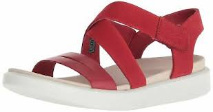 <b>Ecco</b> женские <b>flowt</b> кросс сандалии, Чили красный/Чили, красный ...