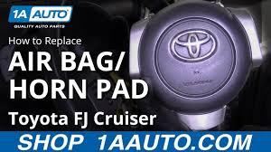 Fj Cruiser Airbag Light How To Replace Airbag Horn Pad 07 14 Toyota Fj Cruiser