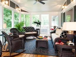 How To Decorate A Sunroom Sunroom Decorating Pictures Hgtv Small Home  Remodel