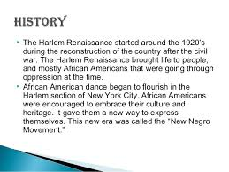 the harlem renaissance dance 2 iuml129frac12 the harlem renaissance