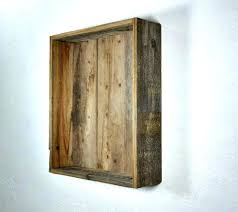 wood wall shelf wood wall mounting shelves cool box style wall shelf with an old tongue