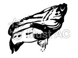 魚シルエット Garage Sukimanekoすきまねこ無料フリーイラスト