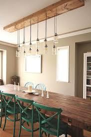 rustic dining room lighting. Miraculous Nice Rustic Dining Room Lighting 17 Best Ideas About Table D
