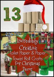 10 Creative DIY Toilet Paper Roll Craft Ideas  K4 CraftToilet Paper Roll Crafts For Christmas
