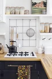 diy wire utensil kitchen rack via abeautifulmess com