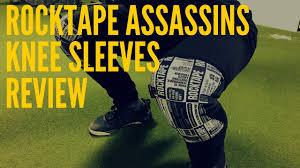 Rocktape Knee Sleeve Size Chart Rocktape Assassins Knee Sleeves Review