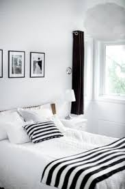 Black and white bedroom ideas for young adults Purple Soft Combination Of Black And White Bedroom 500x749 Calm And Elegant Nuance Black White Pinterest 137 Best Black White Bedrooms Images Bedroom Decor Black