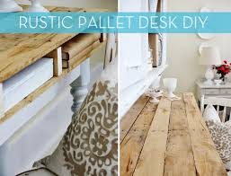 pallet furniture desk. how to make a rustic storage desk from wooden pallets pallet furniture
