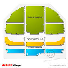 Okc Broadway Seating Chart Gershwin Theatre Concert Tickets And Seating View Vivid Seats
