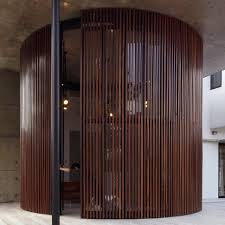 view in gallery curved stacking glass doors surround drum shaped room curved stacking glass doors surround drum shaped room