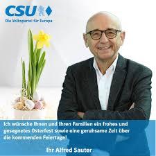 Sauter, einst justizminister, ist nun ebenso wie nüßlein beschuldigter. Alfred Sauter Photos Facebook