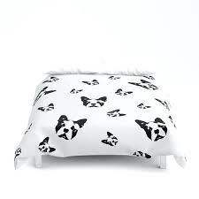boston terrier bedding items similar to terrier duvet cover terrier gifts monochrome decor twin duvet covers boston terrier bedding