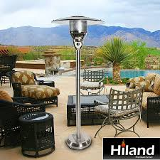 Tall outdoor patio heaters