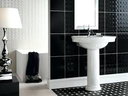 bathroom black tiles black tiles in bathroom ideas in small bathroom black and white tiles classy