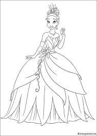 Prinses En De Kikker Kleurplaat 042853 Kleurplaat