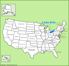 lake erie maps  maps of lake erie