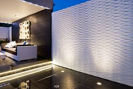 waterproof 3d wall panels ripples design