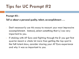 for champs juniors and seniors ppt  tips for uc prompt 2 prompt 2