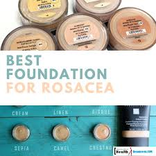 mineral makeup for rosacea saubhaya