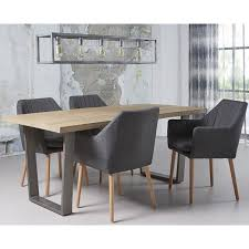 cindy crawford home san francisco gray dining table round dining table in gray aidan gray dining table modern morph dining table in gray