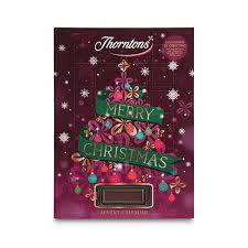 advent calander thorntons advent calendar 83g quidco discover