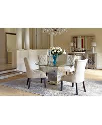 Mirrored Furniture Living Room Marais Dining Room Furniture Collection Mirrored Furniture