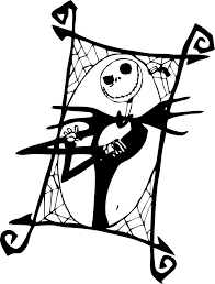 Small Picture Beautiful Jack Skellington Coloring Pages 47 For Your Gallery